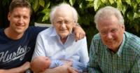 4 Generations of men